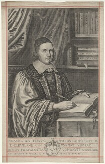 Brian or Bryan Walton, by Pierre Lombart - NPG D38525