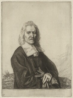 Izaak Walton, by William Strang, after  Jacob Huysmans - NPG D38526