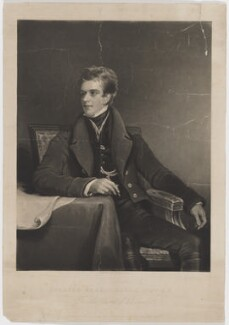 Charles Albany Marjoribanks, by and published by Charles Turner, after  Andrew Geddes - NPG D38224