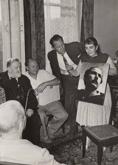Nikolai Ivanovich Svishchov-Paola; Ida Kar and others, by Ida Kar - NPG x133325