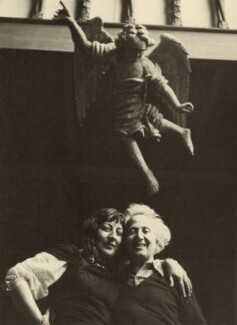 Ida Kar; Emmanuel Mané-Katz, by Ida Kar, 1954 - NPG x133326 - © National Portrait Gallery, London
