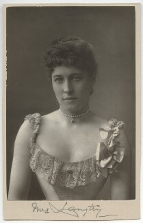 Lillie Langtry, by W. & D. Downey, published 1890 - NPG x12164 - © National Portrait Gallery, London