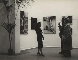 Ida Kar at her Whitechapel Art Gallery exhibition, by Mary Eagles - NPG x133328