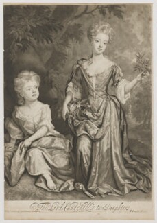 Countess of Sunderland and Duchess of Marlborough, by and published by John Smith, after  Sir Godfrey Kneller, Bt, 1688 (1688) - NPG D38241 - © National Portrait Gallery, London