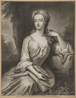 Henrietta ('Harriet') Godolphin (née Churchill), Duchess of Marlborough, by Francis Kyte, after  Sir Godfrey Kneller, Bt - NPG D38242
