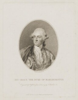 George Spencer, 4th Duke of Marlborough, by John Ogborne, published by  John Thane, after  Francesco Bartolozzi, published 24 April 1795 - NPG D38245 - © National Portrait Gallery, London