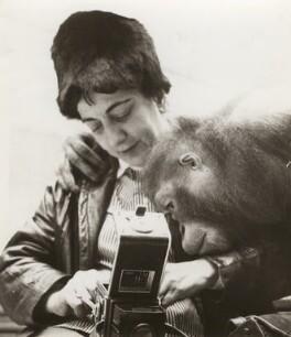 Ida Kar and her friend the Orangutan', by Klaus Spek - NPG x133336