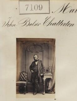 John Balsir Chatterton, by Camille Silvy - NPG Ax57025