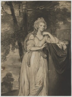 Lady Caroline Spencer (née Russell), Duchess of Marlborough, by John Jones, after  George Romney - NPG D38254