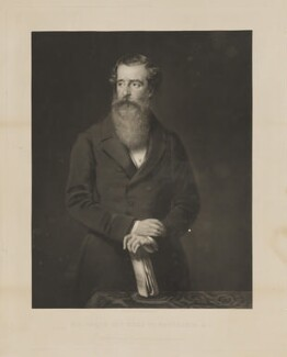 Henry Pelham Fiennes Pelham-Clinton, 5th Duke of Newcastle-under-Lyne, by George Zobel, published by  Paul and Dominic Colnaghi, Scott & Co, after  Sir John Watson-Gordon, published 28 October 1864 - NPG D38727 - © National Portrait Gallery, London