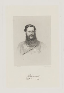 Henry Pelham Fiennes Pelham-Clinton, 5th Duke of Newcastle-under-Lyne, by Joseph Brown, after  Unknown artist, circa 1860s - NPG D38728 - © National Portrait Gallery, London