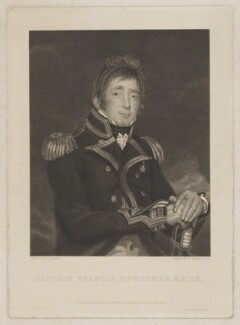 Francis Newcombe, by Henry Richard Cook, printed by  Brooker & Harrison, published by  Hodgson & Graves, after  John James Halls - NPG D38729