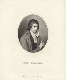 John Thelwall, by Henry James Richter, published 8 December 1794 - NPG D38540 - © National Portrait Gallery, London