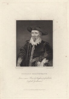 Richard Brathwaite, by Charles Pye, published by  W. Walker, after  George Clint, after  Robert Vaughan - NPG D38541
