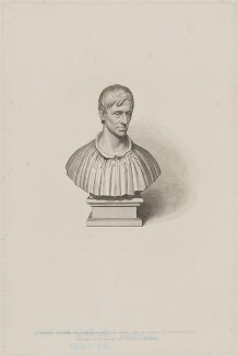 John Newman, by William Humphrys, published by  James Wyatt & Son, after  John Bridges, after  Richard Westmacott - NPG D38733