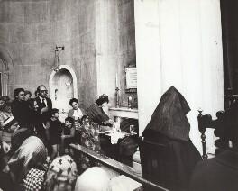 Ida Kar at St Sarkis Armenian Church, by Mark Gerson - NPG x133339
