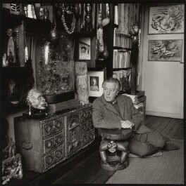 André Breton, by Ida Kar - NPG x133343
