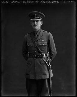 Alexander Henry Louis Hardinge, 2nd Baron Hardinge of Penshurst, by Bassano Ltd - NPG x154684