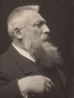 Auguste Rodin, by George Charles Beresford, 1902 - NPG x12858 - © National Portrait Gallery, London