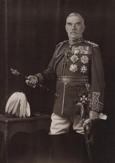 Sir William Robert Robertson, 1st Bt, by George Charles Beresford, 1924 - NPG x12909 - © National Portrait Gallery, London