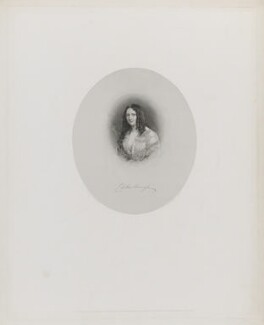 Charlotte Spencer-Churchill (née Flower), Duchess of Marlborough, by W. Joseph Edwards, published by  Henry Graves & Co, after  Sir William Charles Ross, published 1 August 1852 - NPG D38259 - © National Portrait Gallery, London
