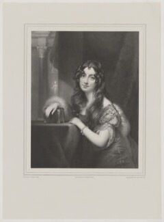 Jane Frances Clinton Spencer-Churchill (née Stewart), Duchess of Marlborough, by Alphonse Léon Noël, printed by  Lemercier, after  George Sanders (Saunders) - NPG D38260