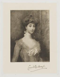 Consuelo (née Vanderbilt), Duchess of Marlborough (later Mrs Balsan), by Frederick John Jenkins, after  Heller - NPG D38261