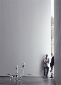 Richard Deacon; Bill Woodrow, by James Stroud - NPG x133363