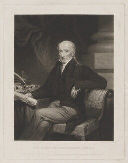 Sir John Newport, 1st Bt, by Thomas Goff Lupton, published by  Colnaghi, Son & Co, and published by  James Anthony Molteno, and published by  Martin Colnaghi, after  James Ramsay - NPG D38739