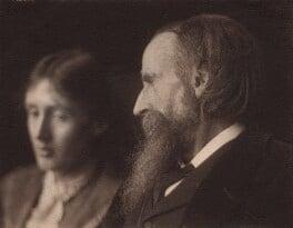 Virginia Woolf; Sir Leslie Stephen, by George Charles Beresford, 1902 - NPG x4600 - © National Portrait Gallery, London