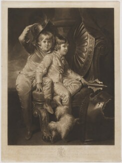 George Spencer-Churchill, 6th Duke of Marlborough when Earl of Sunderland; Charles Spencer-Churchill, by and published by William Whiston Barney, after  Richard Cosway, published 14 September 1805 - NPG D38263 - © National Portrait Gallery, London