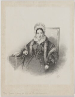 Marianne Emilie Charlotte Marsh (née Lecarriere), by Edward Morton, printed by  M & N Hanhart, after  Edwin Dalton Smith - NPG D38270