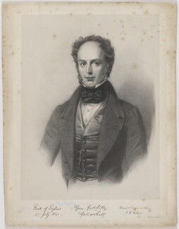 Matthew Marshall, by Francis William Wilkin, printed by  M & N Hanhart - NPG D38273