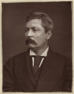 Sir Henry Morton Stanley, by Lock & Whitfield, 1880 or before - NPG x133405 - © National Portrait Gallery, London