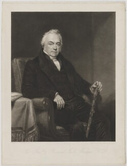 Hon. Jacob Marsham, by William James Ward, after  Henry William Pickersgill - NPG D38276