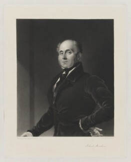Robert Marsham, by James Scott, after  Sir George Hayter - NPG D38279