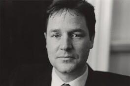Nick Clegg, by Alexander McIntyre - NPG x133372