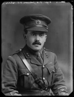 Frederick Henry Johnson, by Bassano Ltd, 21 November 1916 - NPG x154769 - © National Portrait Gallery, London