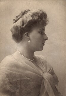 Victoria Eugenie ('Ena') of Battenberg, Queen of Spain, by George Charles Beresford - NPG x26521