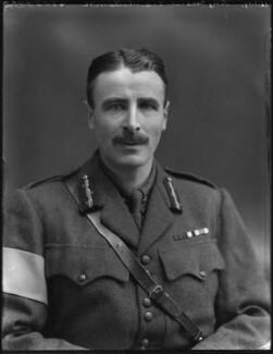 Sir Torquhil George Matheson, 5th Bt, by Bassano Ltd - NPG x154796