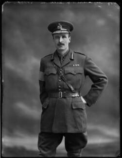 Sir Torquhil George Matheson, 5th Bt, by Bassano Ltd - NPG x154800