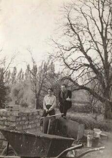John Kasmin; Victor Musgrave, by Ida Kar - NPG x134026