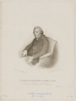 Francis Maseres, by Philipp Audinet, after  Charles Hayter - NPG D38304