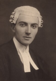 Dornford Yates (Cecil William Mercer), by George Charles Beresford - NPG x27141