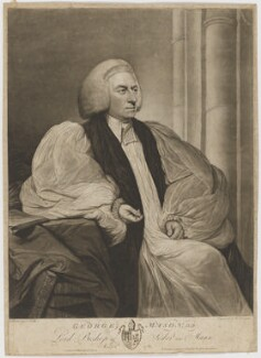 George Mason, by and published by William Dickinson, after  Tilly Kettle - NPG D38306