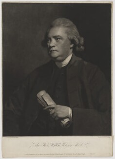 William Mason, by and published by William Doughty, after  Sir Joshua Reynolds - NPG D38307