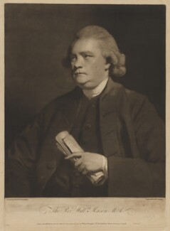 William Mason, by and published by William Doughty, after  Sir Joshua Reynolds - NPG D38308