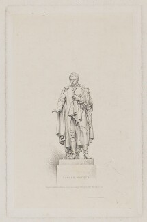 Theobald Mathew, by Henry Adlard, after  John Henry Foley - NPG D38312