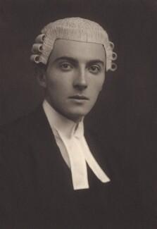 Dornford Yates (Cecil William Mercer), by George Charles Beresford - NPG x27142