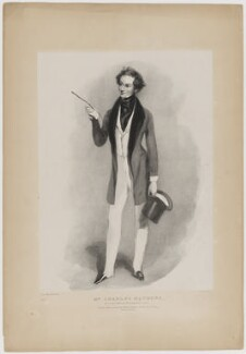 Charles James Mathews as George Rattleton in 'The Humpbacked Lover', by Edward Morton, printed by  Graf & Soret, published by  John Mitchell, after  Alfred Edward Chalon - NPG D38321